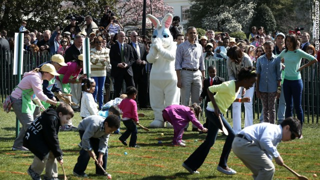 Another example of an Egg Roll - Easter at the White House