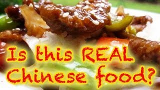 real chinese food