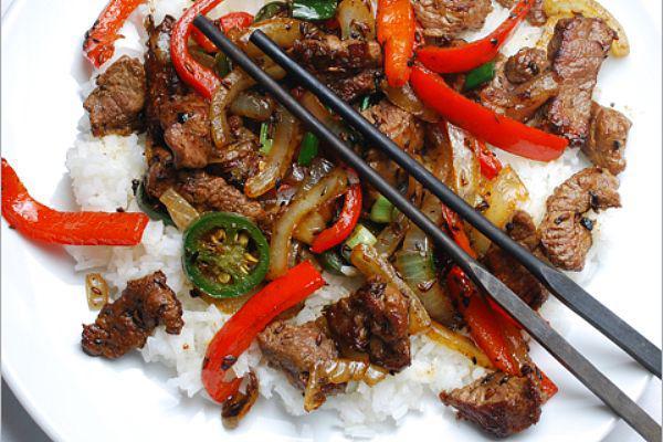 Mongolian Stir-Fried Lamb with Cumin Recipe