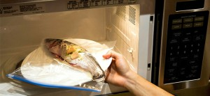 Microwaving Fish