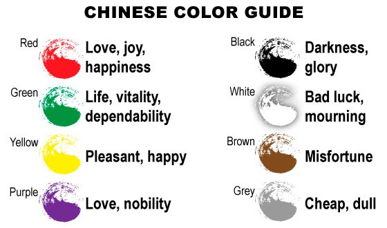 Chinese Color Guide