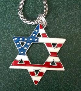 Star of David American Flag