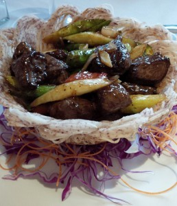 Moonstone Kowloon Rib Eye Steak in Birds Nest
