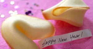 Happy New Year Fortune Cookie