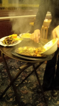 Chopsticks Chinese Restaurant Scallops and Beef