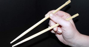 Proper way to hold chopsticks
