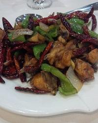 Sauteed Chicken Szechuan Style