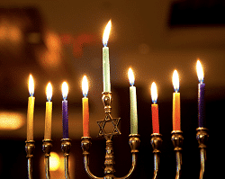 Chanukah Menorah Candles