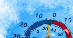 Frigid Ice Cold Freezing Temperature
