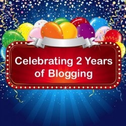Celebrate 2 years of blogging