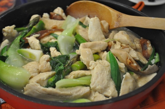 Recipe for Moo Goo Gai Pan