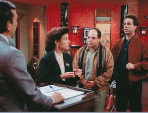 Elaine, Gerry, and Jerry Seinfeld