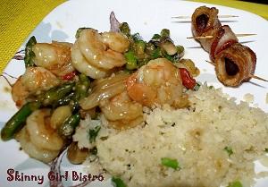 Sesame-Asparagus-Shrimp