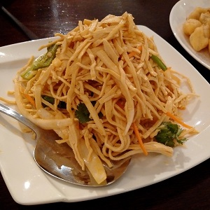 Shredded-Dry-Bean-Curd-Garlic-Sauce
