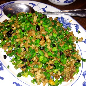 Minced-Pork-Black-Bean-Leek
