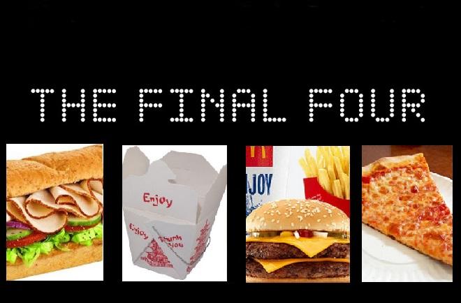 The Take-Out Take-Down Final Four