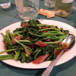 Chinese-broccoli-sausage
