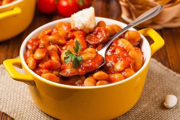 Baked Beans with Pork