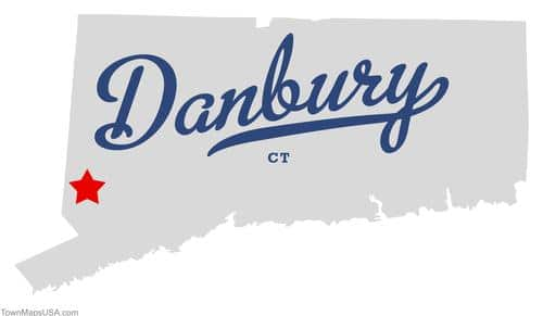 map_of_danbury_ct