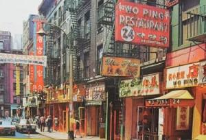 Chinatown, NYC 1960's