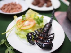 Deep Fried Scorpion