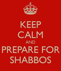 Keep Calm Shabbos