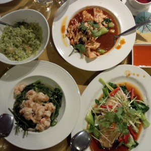 Green Leaf Chinese Restaurant Dishes