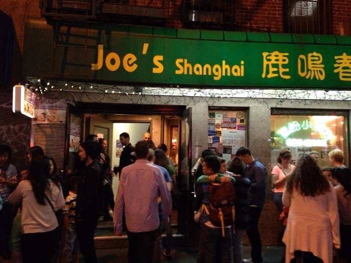 Joe's Shanghai in Manhattan New York City
