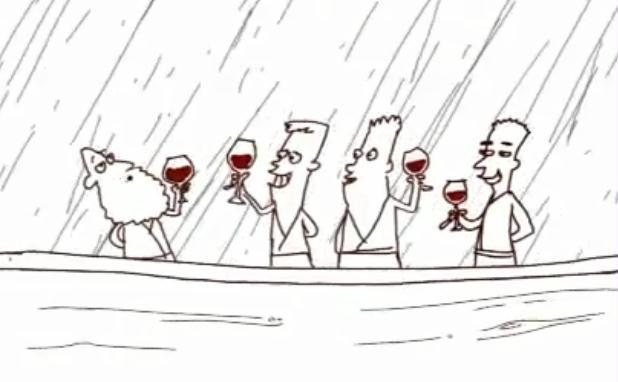 Jewish Jokes and Wine