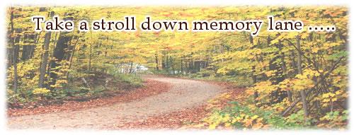 Stroll Down Memory Lane