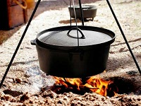 Dutch Oven Campfire Cooking