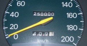 Quarter of a Million, Two-hundred fifty-thousand, 250,000 miles