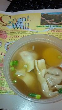 Great Wall Chinese Restaurant Wonton Soup