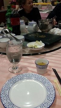 Lake Pavilion Chinese Restaurant, Flushing NY Table