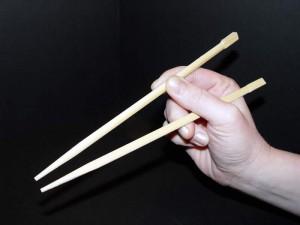 Proper way to hold chopsticks