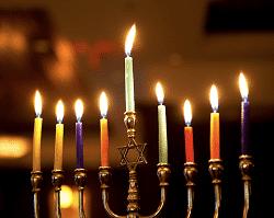 Chanukah Menorah Candles