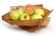 Chopsticks fruit basket
