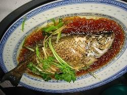 Chinese New Year's Dinner Fish