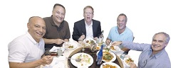 Five Jewish Guys Reviewing Chinese Food