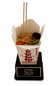 Chinese Take-Out Trophy Food Award