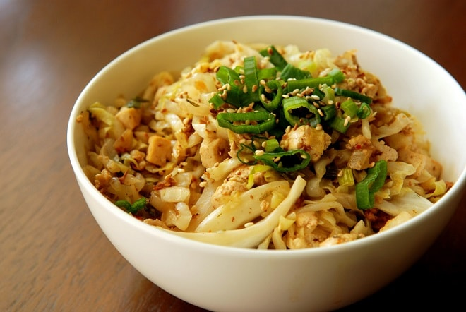 Green Chinese Recipe: Sweet and Sour Cabbage