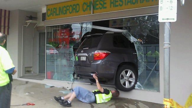 A Drive Through Chinese Restaurant
