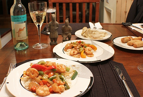 Wine Pairing Moscato and Chinese Food