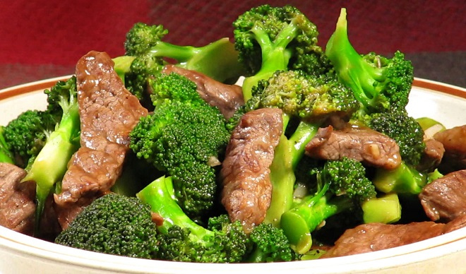 [RECIPE]  Chinese Stir Fried Beef with Broccoli