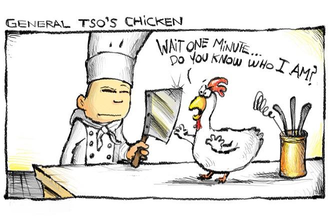 Celebrate Veteran's Day with General Tso (Chicken)