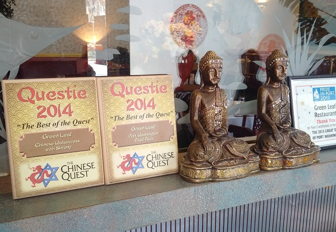 Returning to Green Leaf Chinese Restaurant in Port Washington