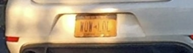 LOL-License-Plate
